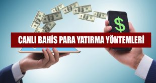 canlı bahis para yatırma